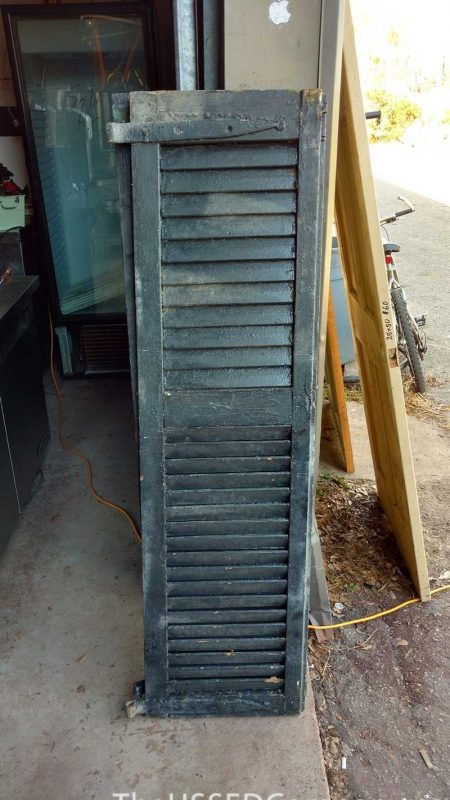 Antique Recovered Shutters