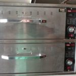 Used Hatco HDW-X Double Drawer Warmer
