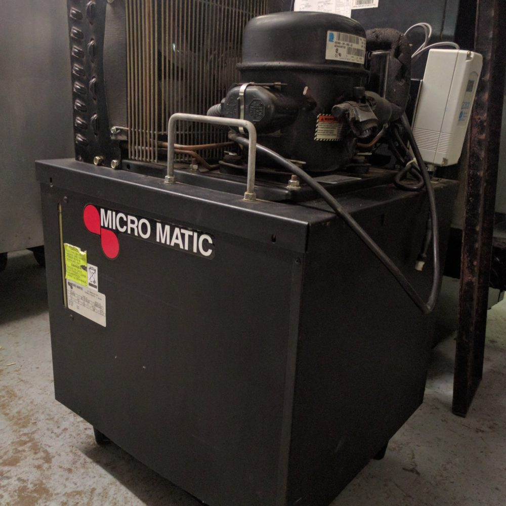 Used Micromatic Beer Tap Chiller Machine