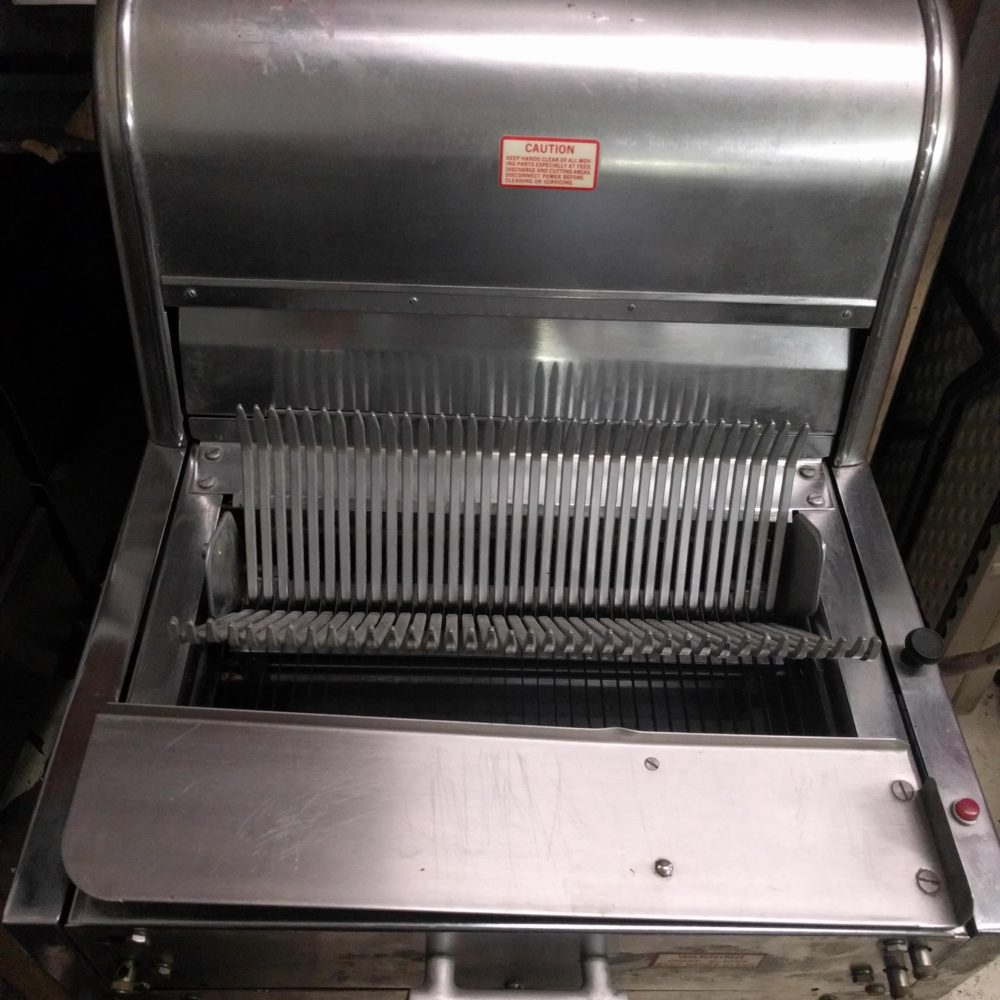 front viewUsed Berkel Bread Slicer #7/16