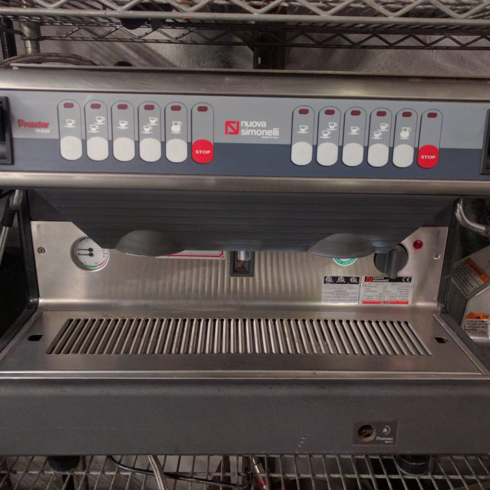 front view Used Nuova Simonelli Premier V Group 2 Espresso Machine