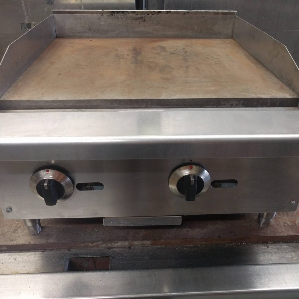 top view griddle