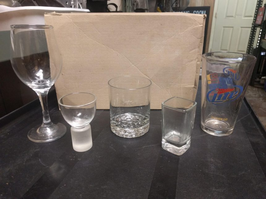 Various Bar Glasses
