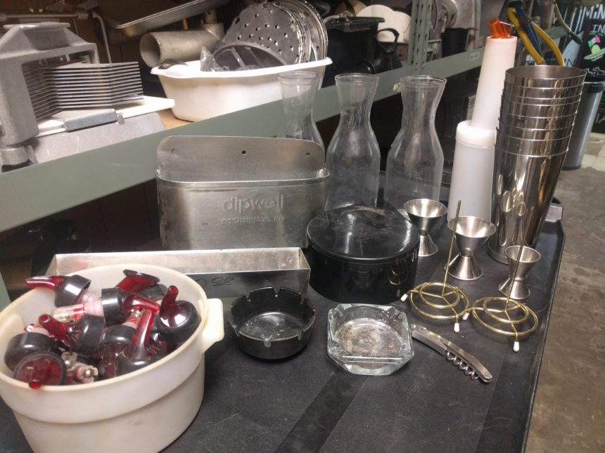 Various Bar Supplies