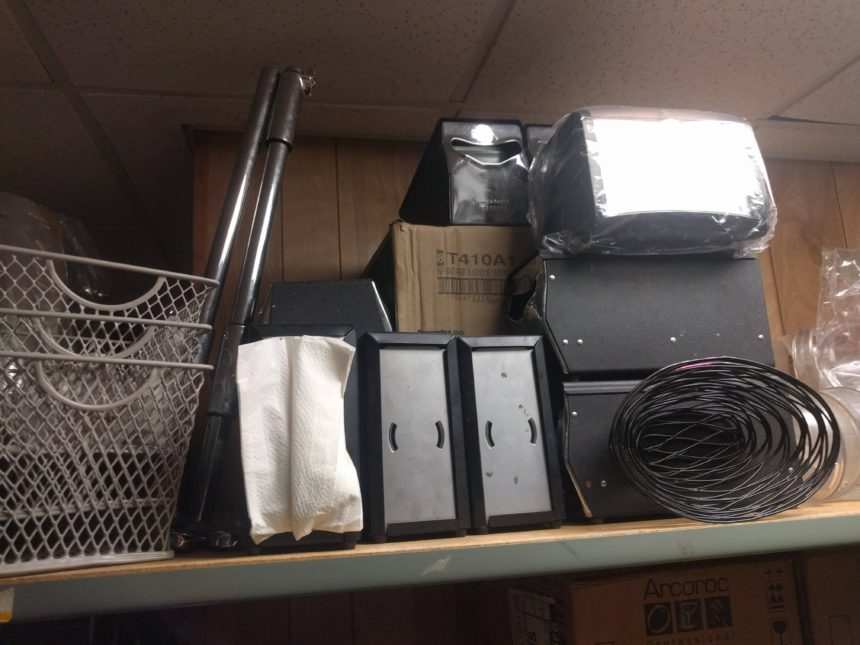 Napkin Dispensers and Baskets