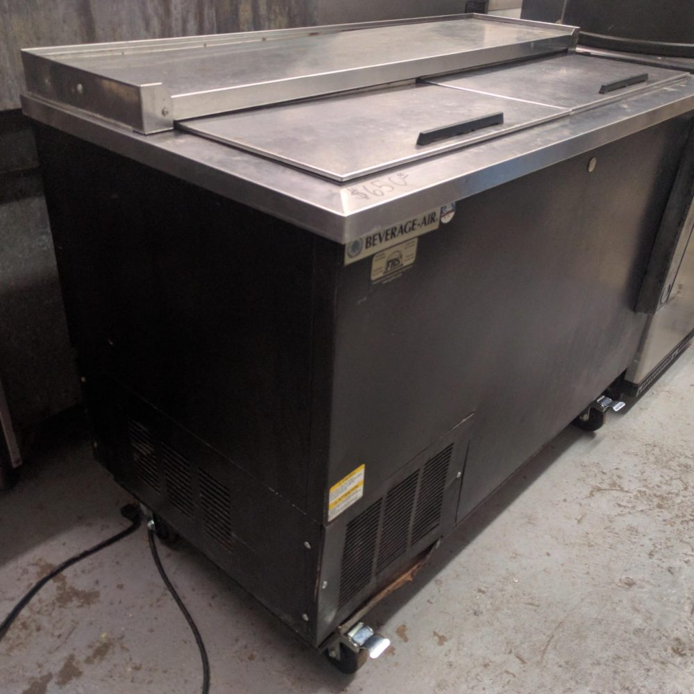 full view Used Beverage-Air DW49-B Bottle Cooler