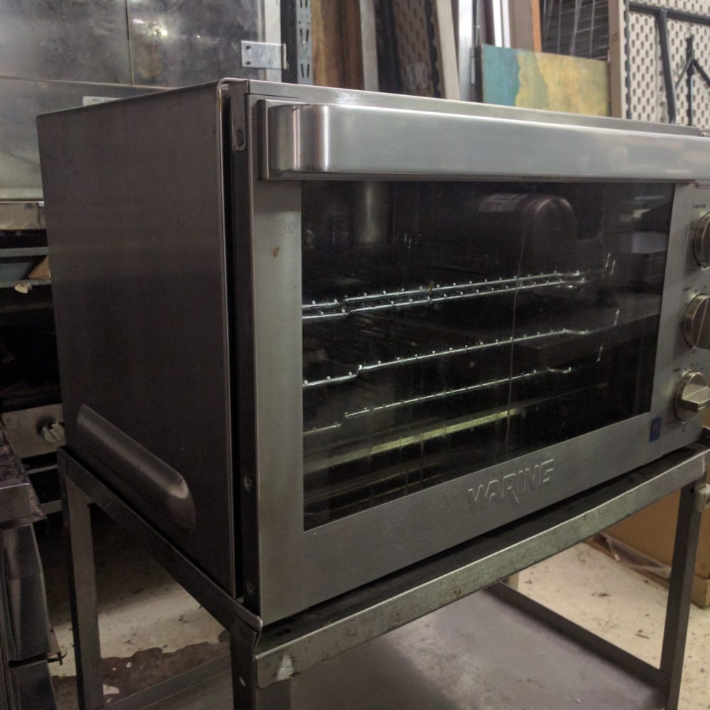full view NEW Waring WCO500X Convection Oven