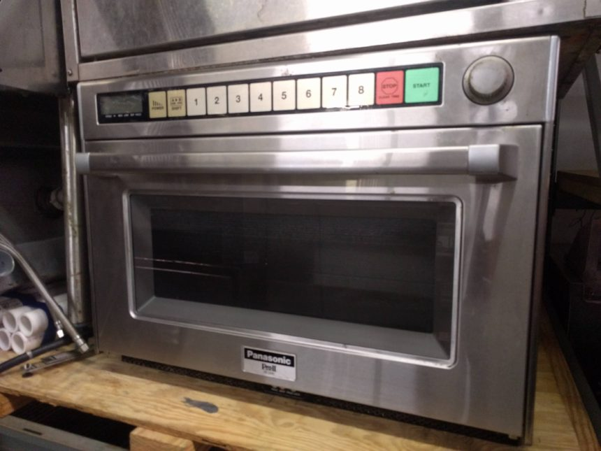 full view Like NEW Panasonic Industrial Microwave/Steamer