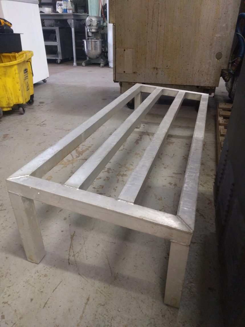 Used Aluminum Dunnage Racks (Various sizes)