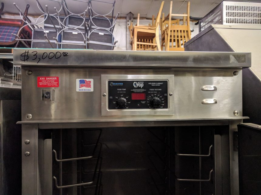 display NEW Winston HL4522 CVAP Holding Oven