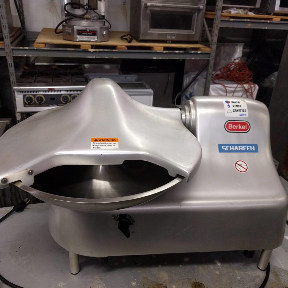 full view Like NEW Berkel 1810 Bowl/Buffalo Chopper