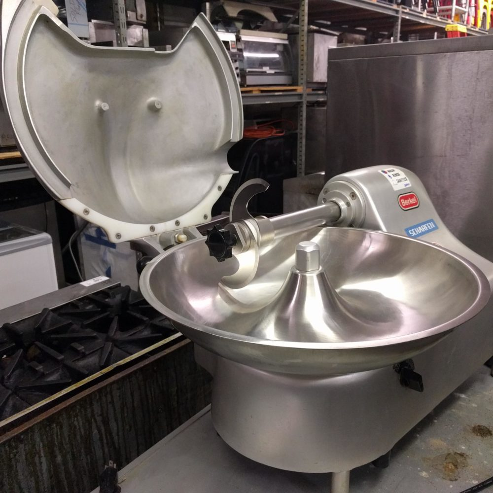 inside view Like NEW Berkel 1810 Bowl/Buffalo Chopper