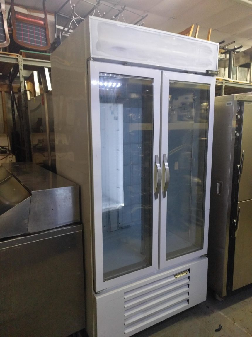 full view Used Beverage Air CFG36-1 Freezer